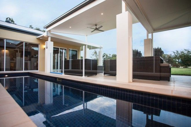 Realm Building Design Echuca - Murray Drive - Pool - Fencing - Alfresco -