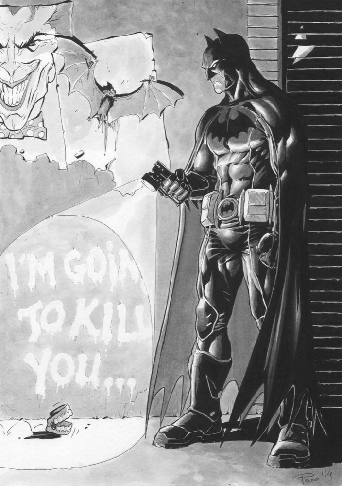 batman vs joker essay While joker could fight batman like a madman, to his last breath, bane would  it  can be said that the people were a collateral damage in joker vs batman.