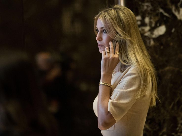 Ivanka Trump was closing business deal in Japan when pictured with Donald Trump and Shinzo Abe