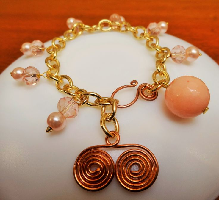 peachy rounds and copper coils !