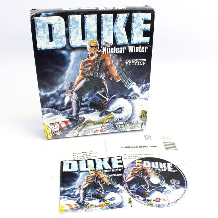 Duke Nukem Nuclear Winter for the PC by WizardWorks Software, 1997, Shooter