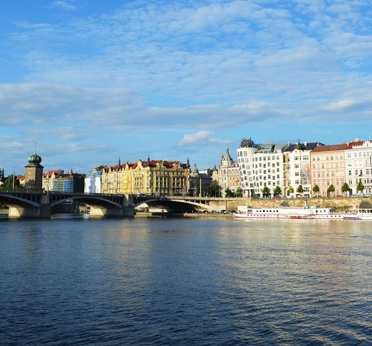 #Prague #Vltava #DancingHouse