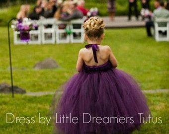 Mint groene bloemenmeisje Tutu jurk van littledreamersinc op Etsy