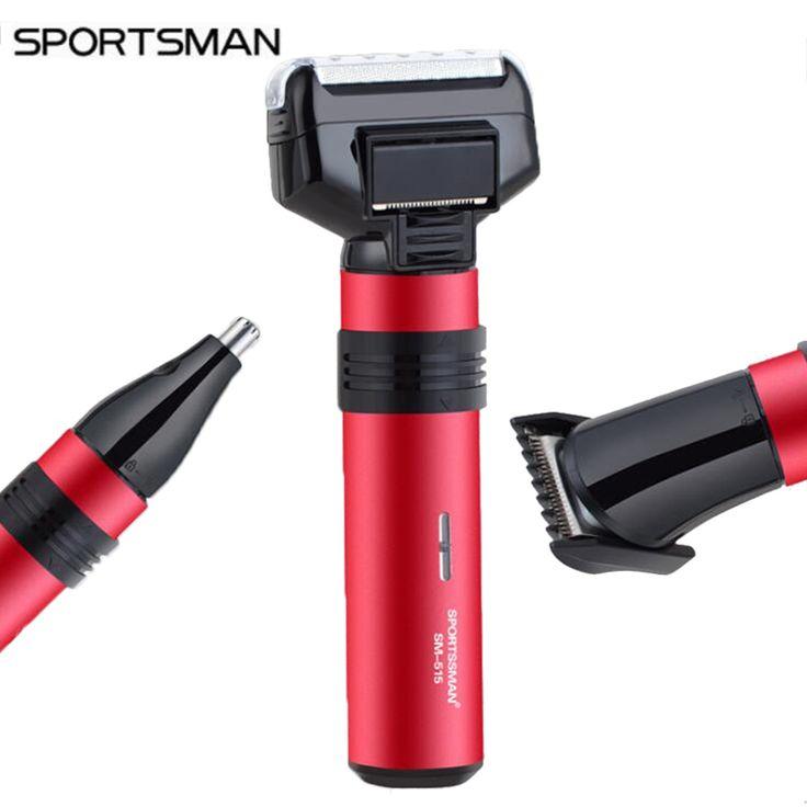 High Quality 3 In 1 Electric men razor hair trimmer nose hair cutting beard shaving Multi-function Barber Hair Trimmer SM-515 #Affiliate