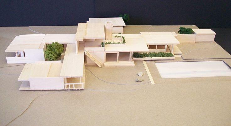 10 images about richard neutra on pinterest models for Kaufmann desert house floor plan