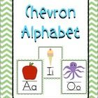 These bright and colorful chevron alphabet posters will add a pop of color to any classroom!  Each letter poster is 8.5 inches by 11 inches and inc...