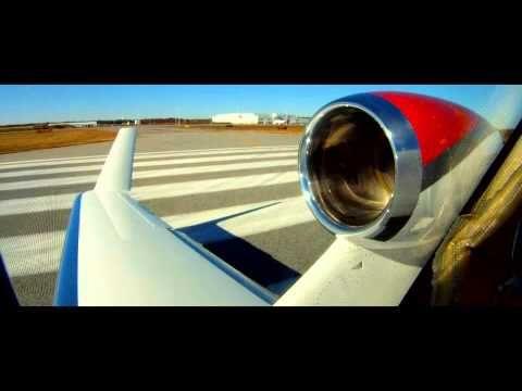 HondaJet F2 takes off.