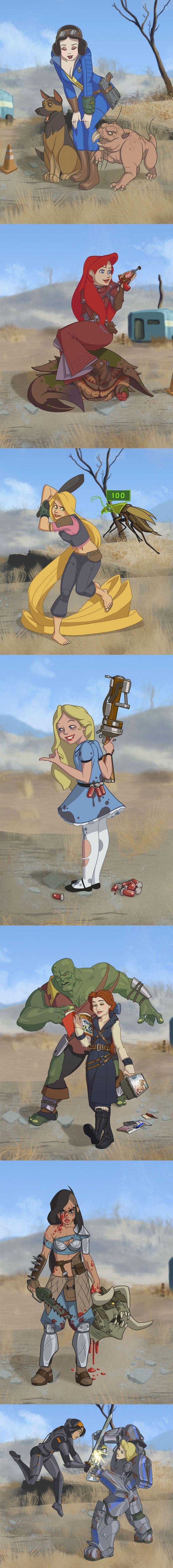 Disney's Fallout 4 Princesses