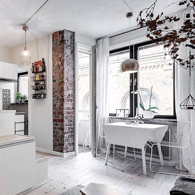 Studio Apartment Brick Wall 459 best s t u d i o a p t images on pinterest | live, home and
