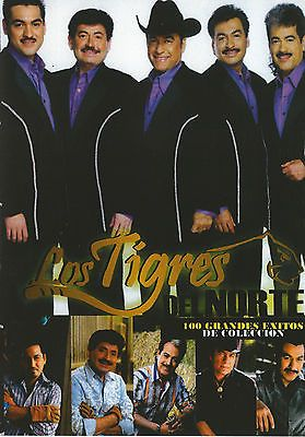 LOS TIGRES DEL NORTE MUSIC VIDEO DVD 100 GRANDES EXITOS DE COLECCION