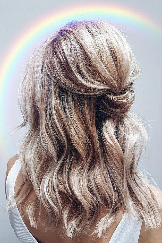 30 Best Ideas Of Wedding Hairstyles For Thin Hair Wedding Forward In 2020 Natural Hair Styles Hair Styles Medium Hair Styles
