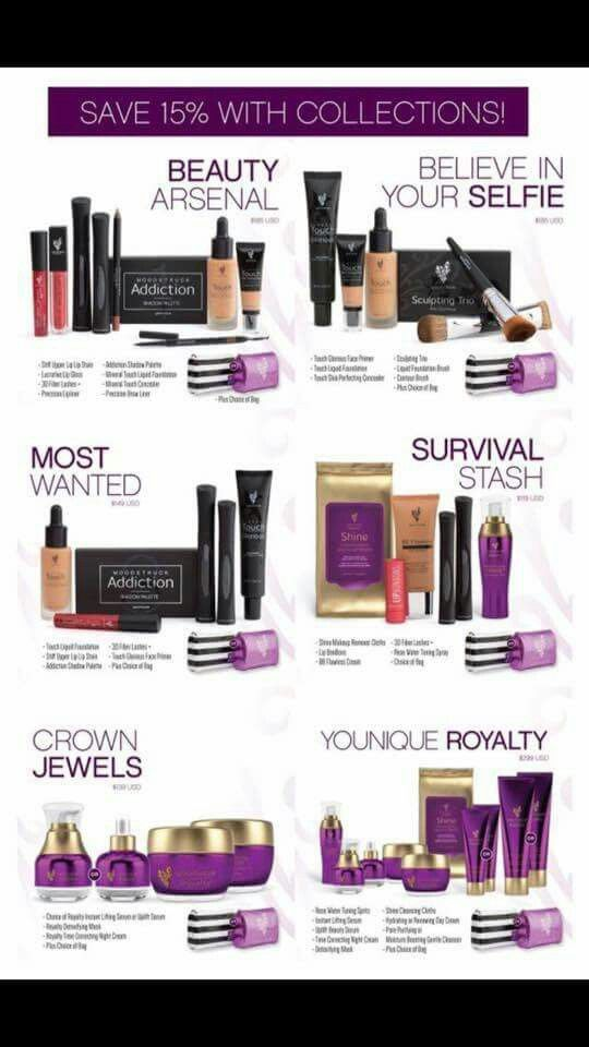 NEW 2016 FALL YOUNIQUE COLLECTIONS. Save 15% on the hottest natural based skin care and cosmetics! PLUS free shipping and a free makeup bag of your choice! www.youniqueproducts.com/MillerCassie/party/4952879