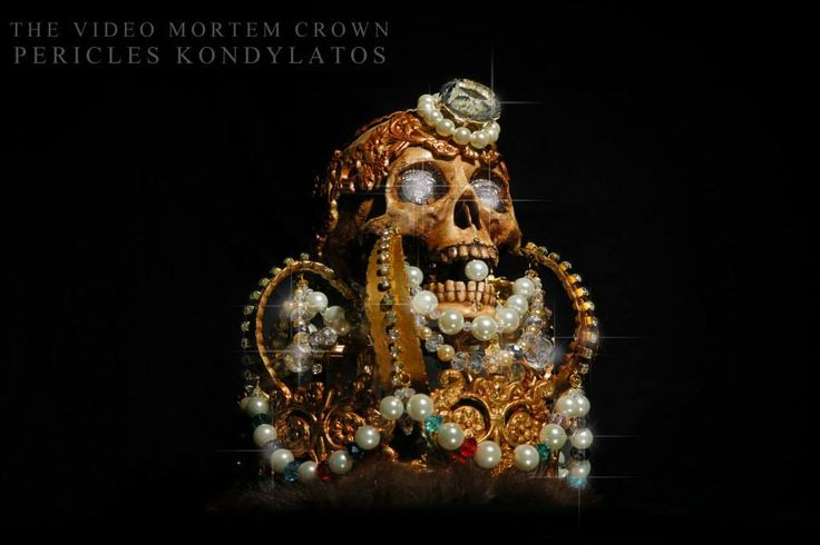 "The ""Video Mortem"" Crown by Pericles Kondylatos Still life pictures by Panagiotis Karamitsos / ""WE THE PEOPLE"""