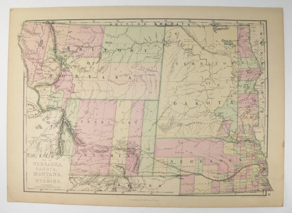 Best Wyoming Map Ideas On Pinterest Yellowstone Map - Map ot the us