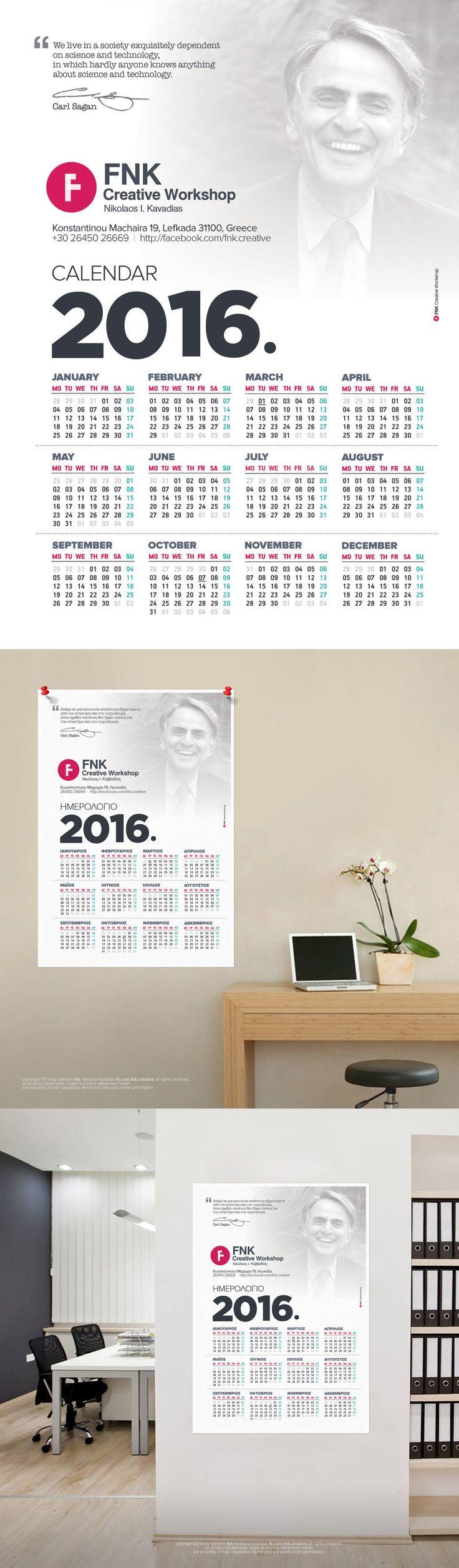 FNK 2016 Calendar (Light Version)  Download for FREE: http://bit.ly/1Rbt1DP