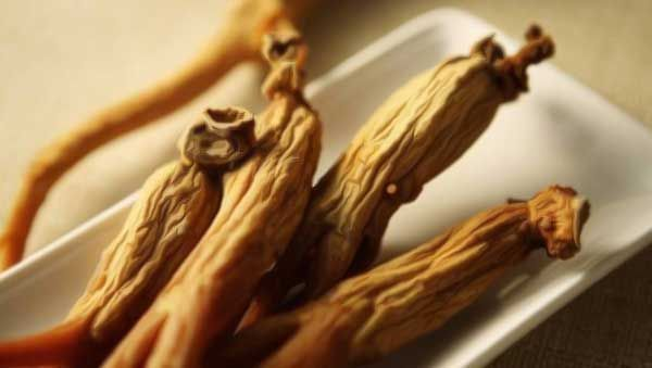 Famous ginseng plants derived from korea is often served with hot tea. Benefits…
