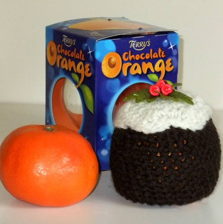 christmas plum pudding cover for orange by cookie crochet | notonthehighstreet.com