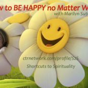 """Did you know that your happiness """"set point"""" is 50% based on your genetics?  Learn how to be happy no matter what! :~D Find out what choices will bring you greater happiness Discover how to transform negative influences Understand how your attitude affects your happiness Why seeking external proof can elevate your happy factor Dismantle your limiting beliefs Learn how giving can stimulate your happiness  Maintain your happiness while ..."""