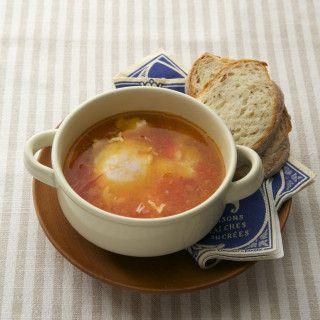 冷凍ストックの塩トマトで超簡単!10分でできる絶品スープレシピ