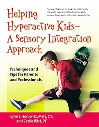 @Overstock.com.com - Draws on sensory integration therapy practices to counsel parents and caregivers on a program that bases treatment on play, explaining how to help hyperactive children absorb, process, and respond to information in appropriate ways. Original.http://www.overstock.com/Books-Movies-Music-Games/Helping-Hyperactive-Kids-a-Sensory-Integration-Approach-Paperback/2011418/product.html?CID=214117 $12.19