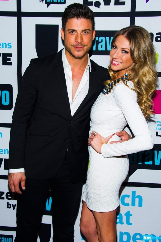 Former boyfriend and girlfriend: Jax Taylor and Stassi Schroeder
