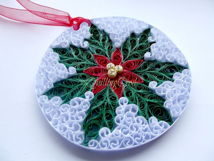 280 best images about quilling christmas decorations on for Decoration quilling
