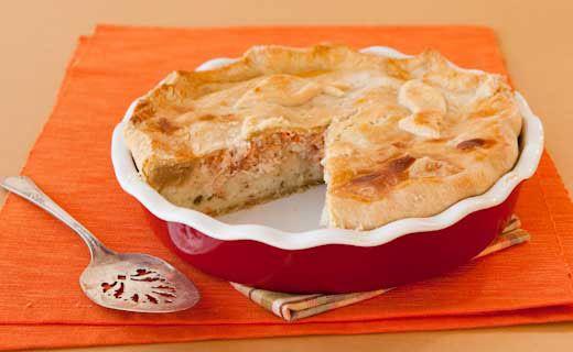 Sylvie's Salmon Pie