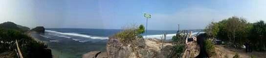 Indrayanti Beach Jogjakarta