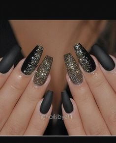 This but nude with black sparkle