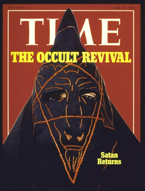 Vintage Time magazine issue featuring Anton LaVey, among others.