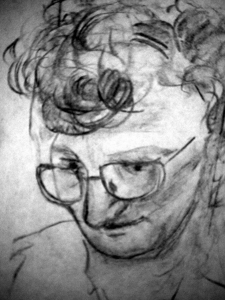 Mutti Skizze 1 by Jens H. Westermann, #art #artist #drawing #Kunst #Künstler #Zeichnung #Westermann