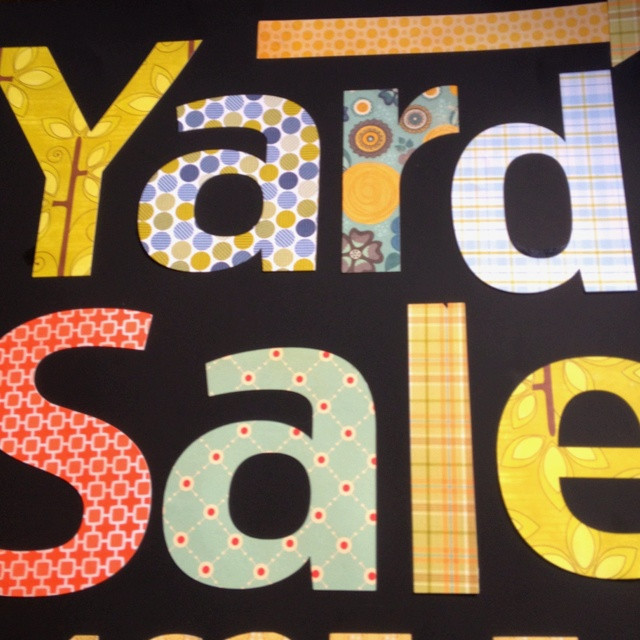 17 Best images about Yard Sale Signs & Ideas on Pinterest | Garage ...