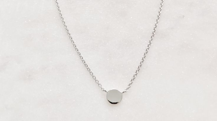 Sterling silver Le basic necklace bohchicstore.com