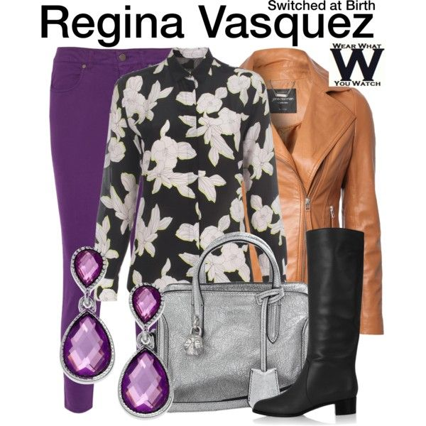 Inspired by Constance Marie as Regina Vasquez on Switched At Birth.