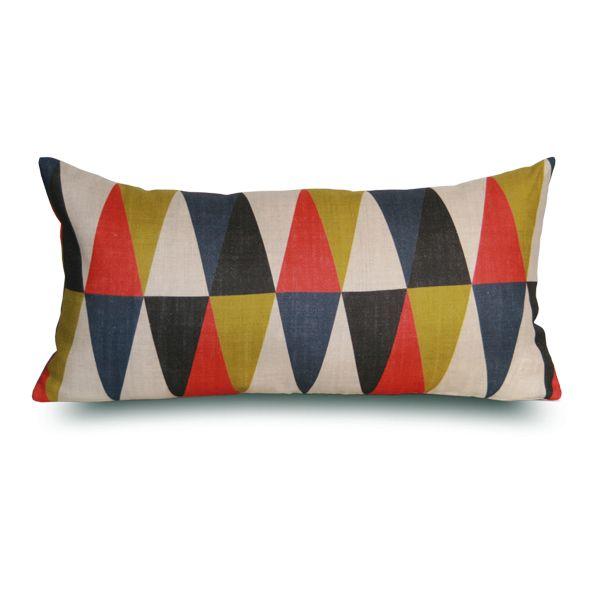 Bergame Cushion by Rouge Du Rhin Design: Marianne Diemer