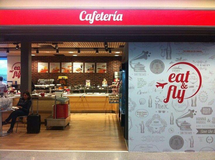 En la cafetería Eat & Fly del Aeropuerto de Madrid-Barajas, encontrarás la oferta de comida perfecta para antes o después de volar, y lo mejor es que podrás acompañarla de zumo de naranja recién exprimido por Versatile Pro, nuestra exprimidora profesional con TECNOLOGÍA SIN LÍMITES :)