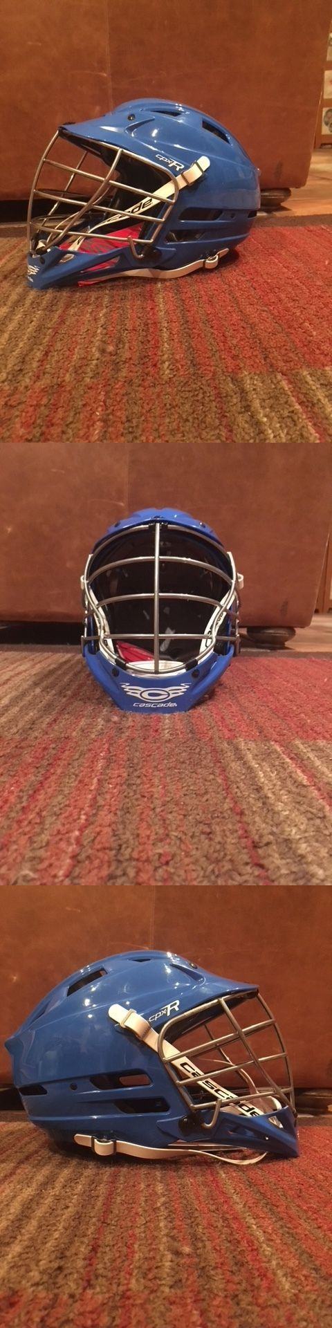Protective Gear 62164: Cascade Lacrosse Helmet Cpx-R -Royal Blue -> BUY IT NOW ONLY: $200 on eBay!