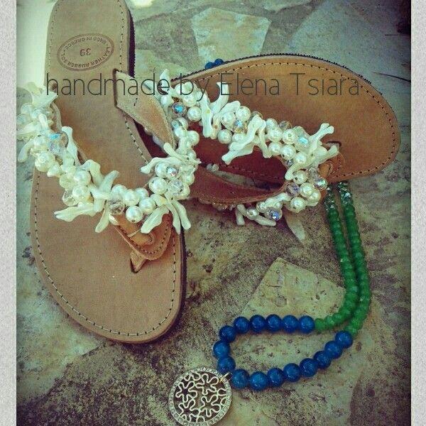 Availiable @elenadandals.blogspot.com #sandals#handmade #leather #necklace