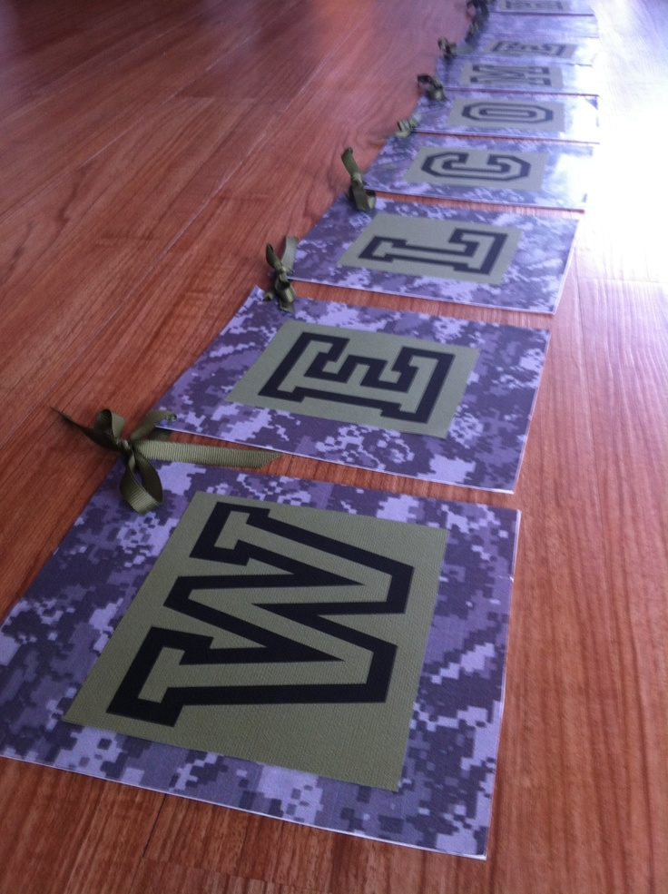 8 best welcome home military signs images on pinterest | military
