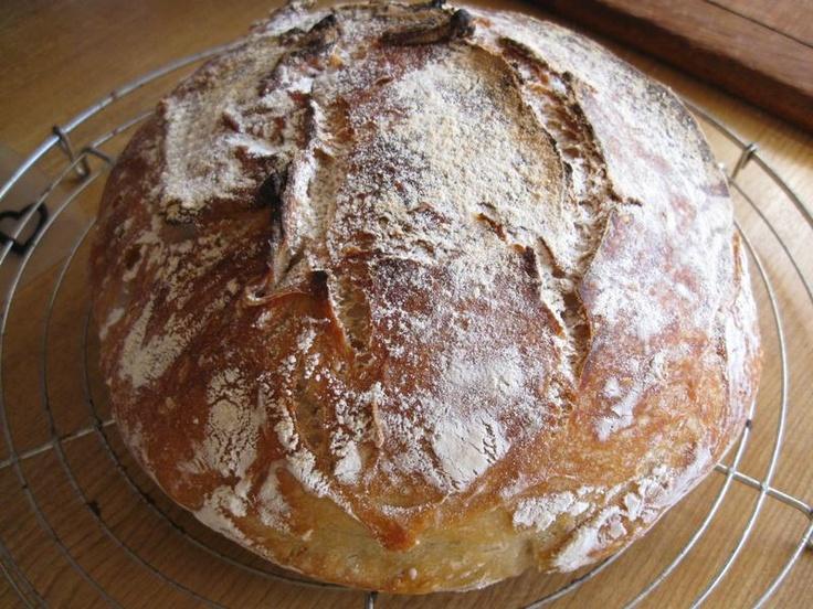 No Knead-Bread (Schritt für Schritt) (Kein Kneten Brot ) Arbeitsaufwand ca. 10-15 Minuten...
