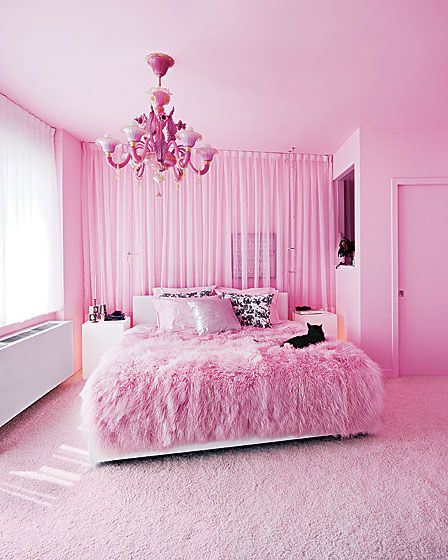 Nice This Bedroom Is Almost Nothing But Pink! I Picked This Room Because I Think  It Would Be A Nice Room For Tweens/teens That Have A Love For This Color  That ...