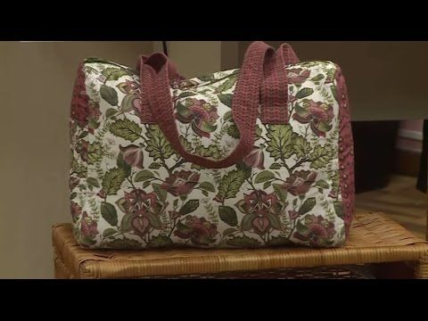 Bolsa Baú - Singer Patchwork 7285 - YouTube