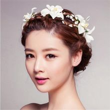 Nové barevné stuha růže květ hairband dětské vlasy kapely Děti vlasové doplňky dívky Svatební květinový gumičku (Čína (pevninská část))