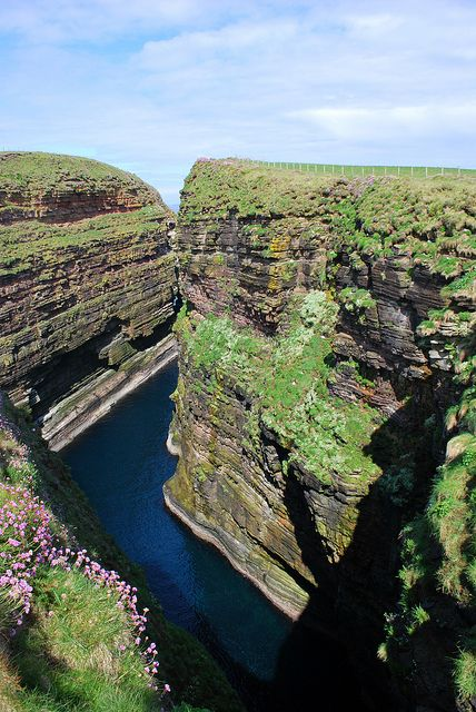 Duncansby Head, John O'Groats, Scottish Highlands, Scotland, UK