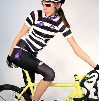 Border Purple-bici original cycle wear and order bicycle Jersey MADE IN JAPAN- bici.jp