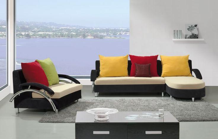 DIVANI SOGGIORNO DIVANI ANGOLARI DIVANO SALOTTO MEGA SOFA TESSUTO POLTRONA - C&G Home design