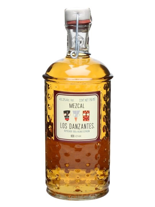 Los Danzantes Reposado Mezcal  -An aged mezcal from Los Danzantes, restaurateurs turned distillers, matured in oak and bottled at a soft and easy drinking 43.2%