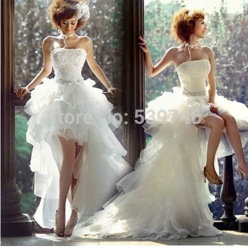 Cheap Robe De Mariage Buy Quality High Low Wedding Dresses Directly From China Dress Short Front Suppliers