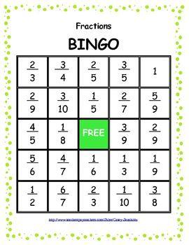 Best 129 Math Bingo Games images on Pinterest | Education | More ...