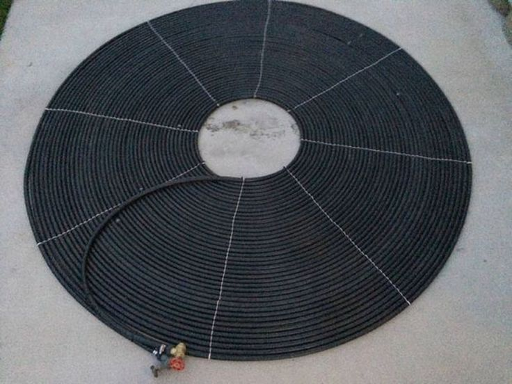 Easy to Build Solar Pool Heater Saves Money and Keeps You from Freezing | Hackaday